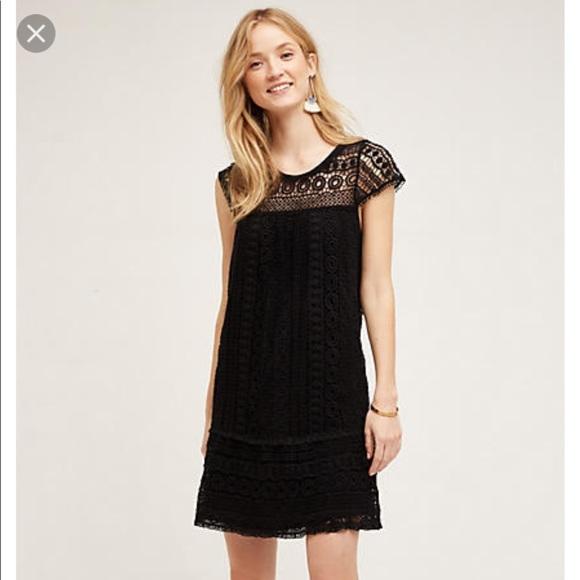 19d49157256d4 Anthropologie Dresses | Maeve Crochet Tunic Dress | Poshmark